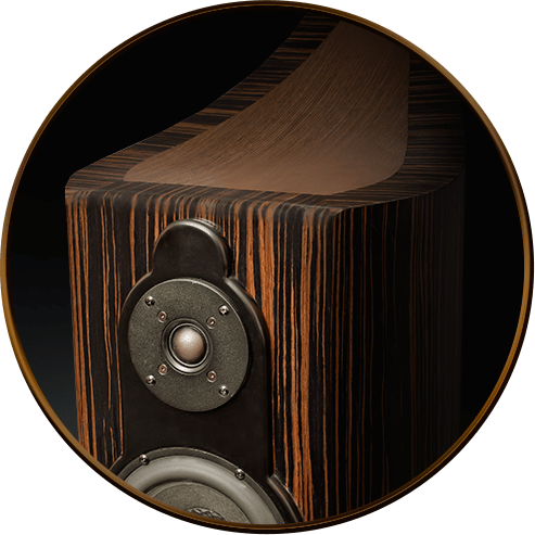 wysokiej jakości kolumny głośnikowe